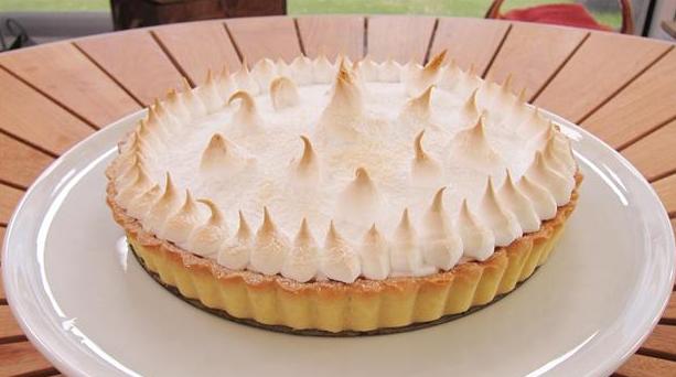 Billede af citrontærte