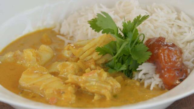 Fiskecurry