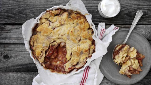 Klassisk æblekage