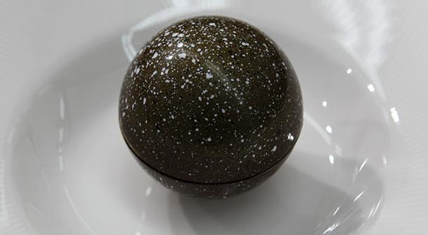 Chokoladekugle med passionsfrugt og vanilje