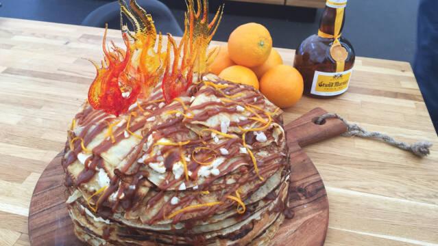 kage af pandekager