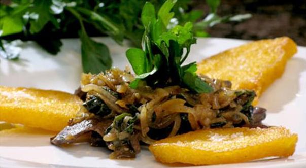 Billede af Fegato alla Veneziana med polenta