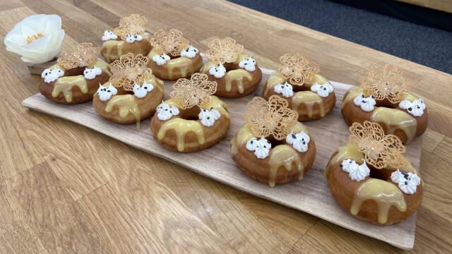 Donuts med citron og lakrids