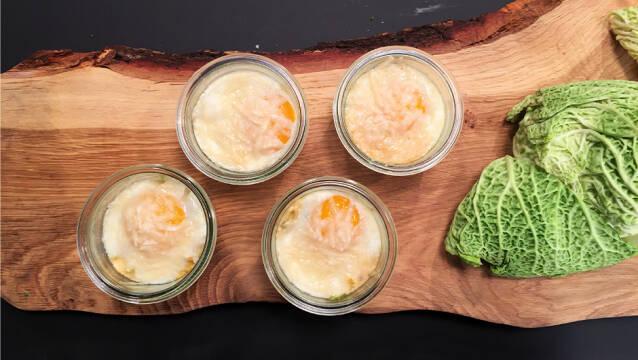 Fire lækre morgenmadsretter - Æg en cocotte