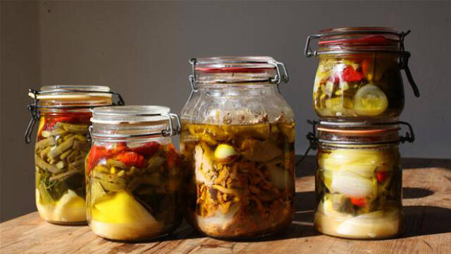 Grøntsager i patentglas