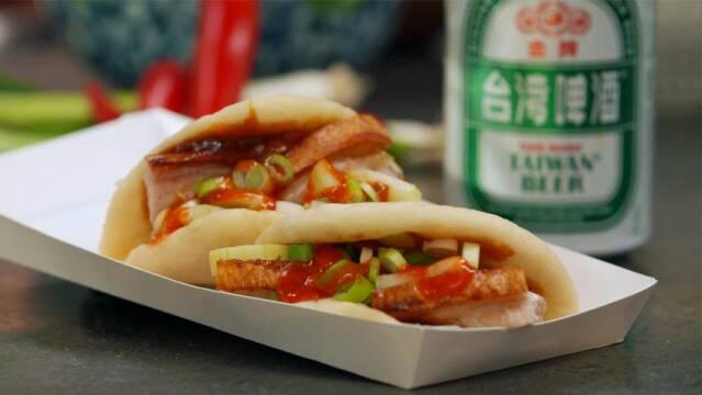 Gua Bao med svinebryst