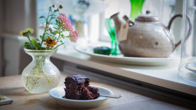 Alletiders mumse chokoladekage