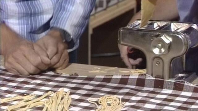 Hjemmelavet pasta billede