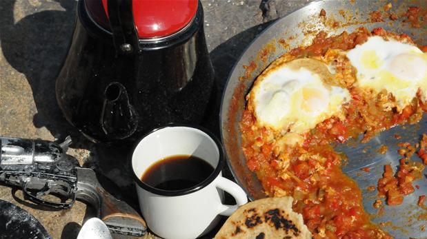 Billede af huevos rancheros - mexicansk morgenmad