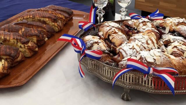 Wienerbrød - pain suisse og croissant