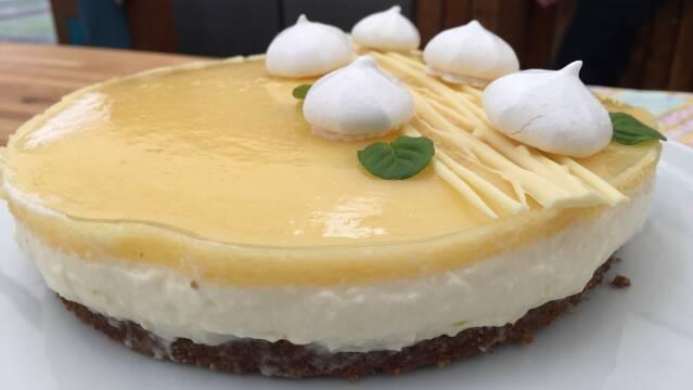Billede af Lemon cheesecake