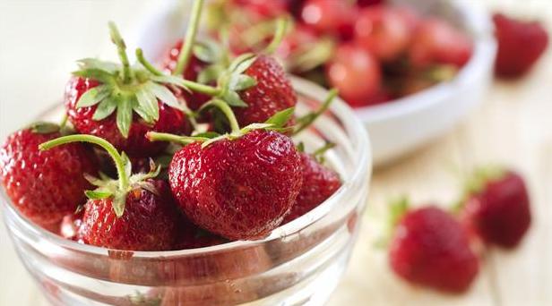 Billede af frisk jordbær