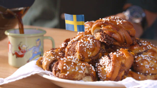 svenske kanelboller