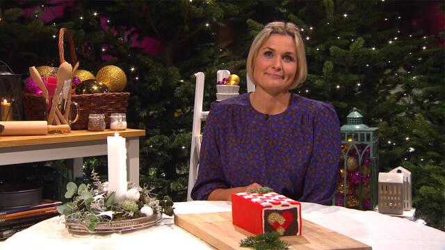Katrine Foged Thomsen med julehjertekagen