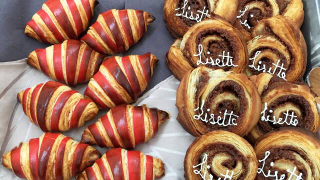 Kanelsnegle og croissanter
