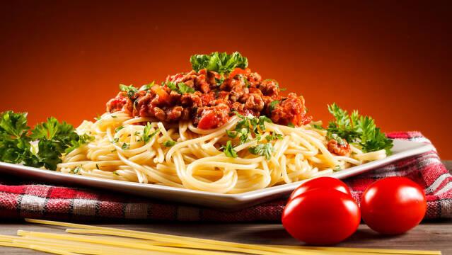 spaghetti al ragu, også bedre kendt som spaghetti bolognese