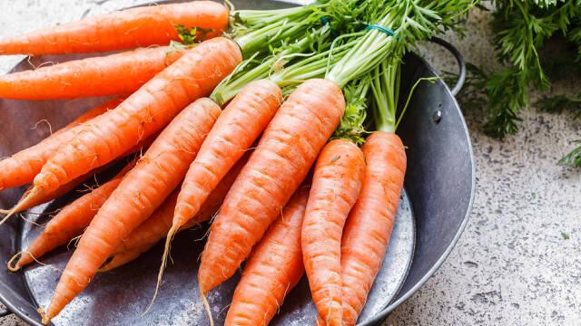Friske gulerødder