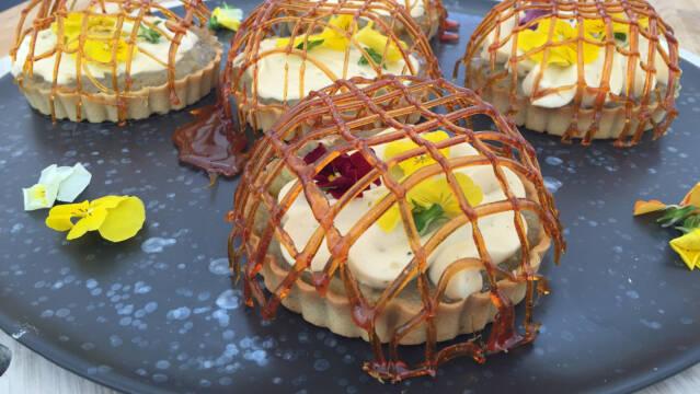 Stikkelsbærtærter med kamille