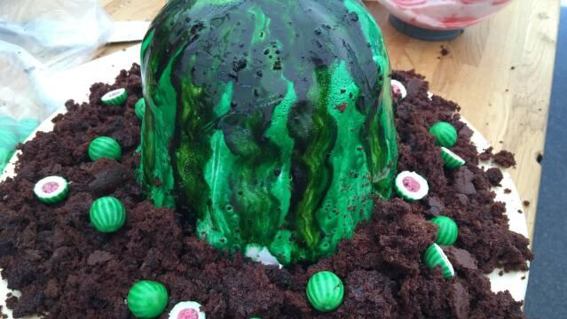 Billede af Mohammeds vandmelon kage