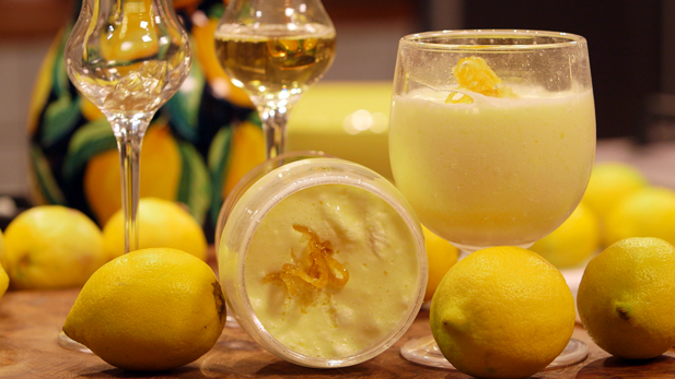 Billede af mousse au citron