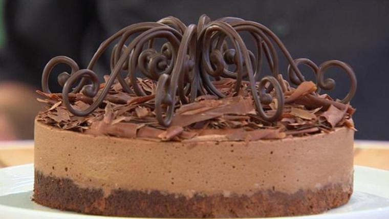 Gateau marcel - chokoladekage med krone på toppen