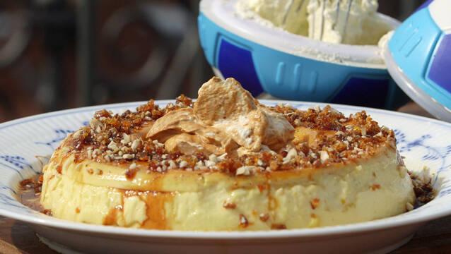 Klassisk dessert   Karamelrand