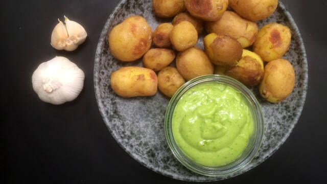 Snack - Saltbagte nye kartofler