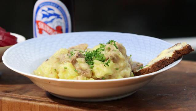 Skipperlabskovs af kartofler og oksebov