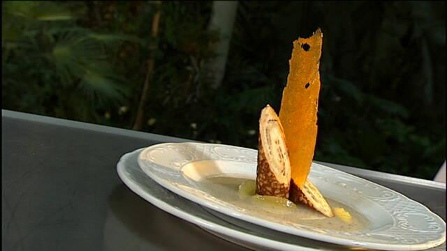 Pandekager med citroncreme og syrlig citronconfit