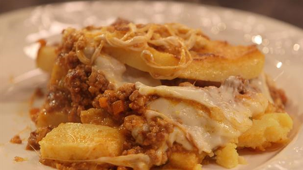 Billede af polenta lasagna