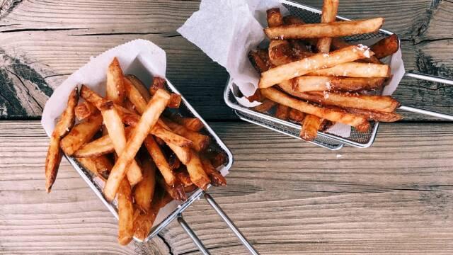 Billede af hjemmelavedepommes frites
