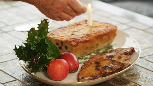 Billede af Prossekage fra Hindsholm der spises til jul.