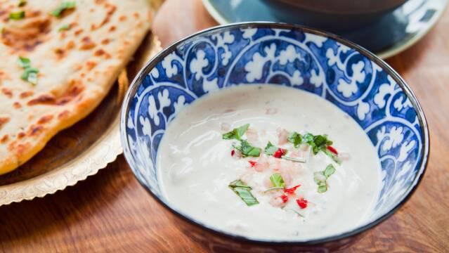 Indisk yoghurtdip