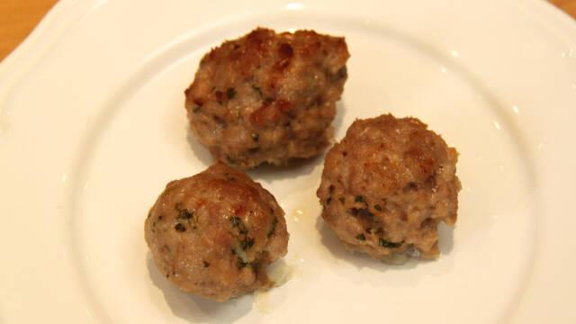 små kødboller