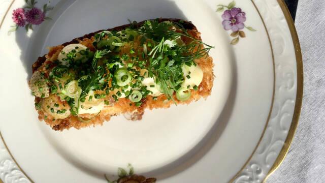 Smørrebrød med fisk