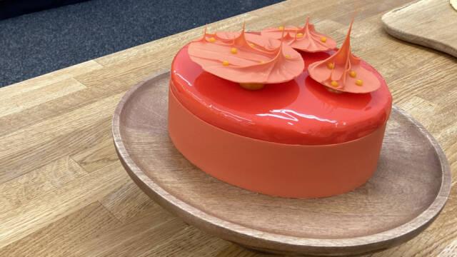 En kage inspireret af solero-is