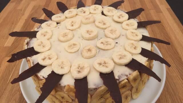 Billede af den ultimative banankage