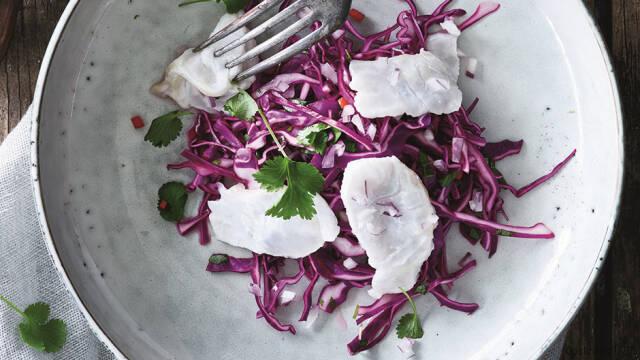Ceviche af torsk - forret