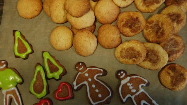 Nemme julesmåkager - sirupskager, ingefærsmåkager og jødekager