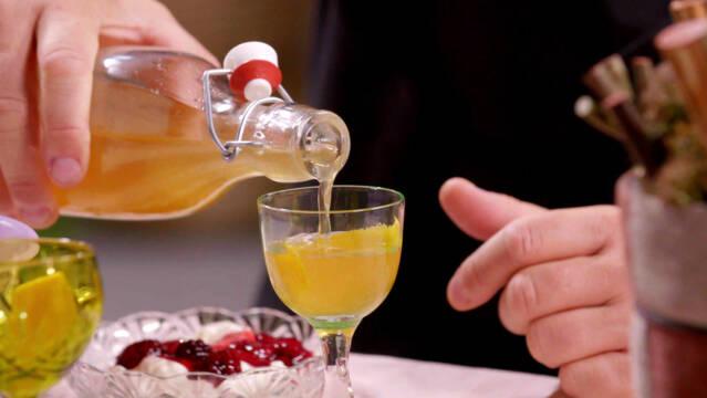 Julevermouth i små glas