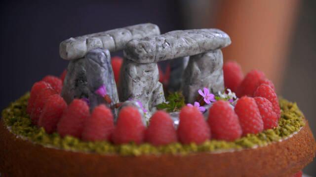 Victoria spongecake med hindbær