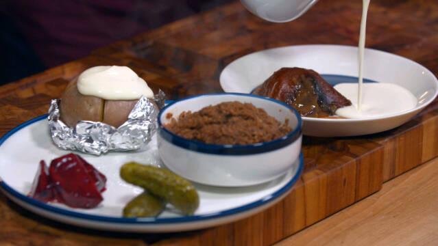 finske mad på bord