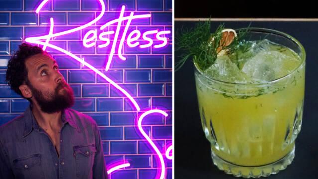 Frederick-Sebastian Krause og cocktail