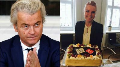 Collage af DR. Foto af Geert Wilders: Yves Herman/Scanpix