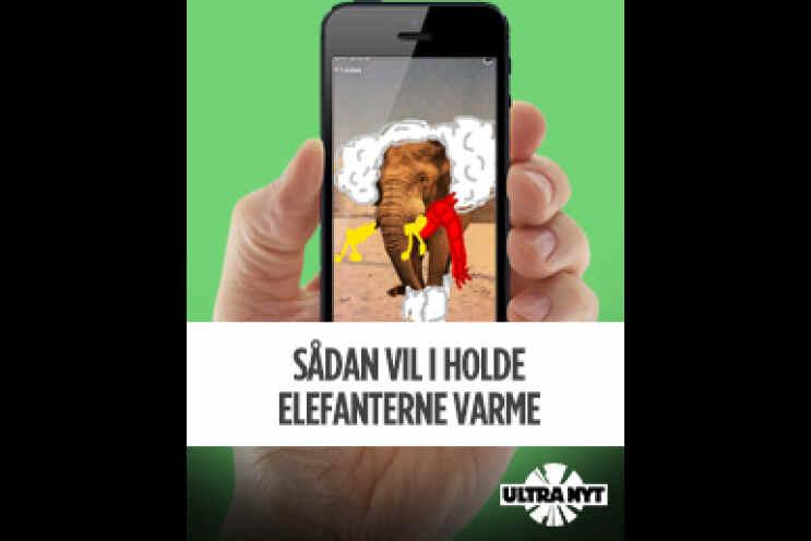 4851191c Sådan vil I holde elefanterne varme   Ultra Nyt   DR
