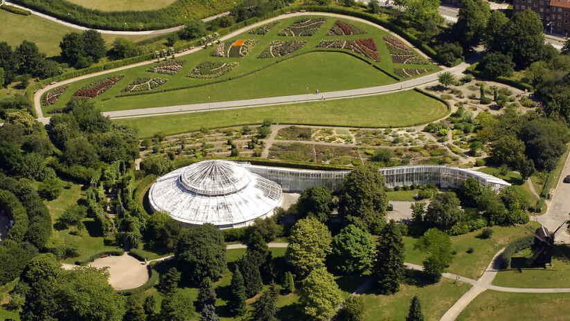 Botanisk Have I Aarhus Bliver Fredet Ligetil Dr