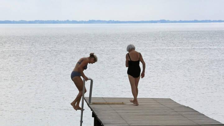 Brug for nedkøling fra 30 grader? Så varmt er badevandet ved dig nu