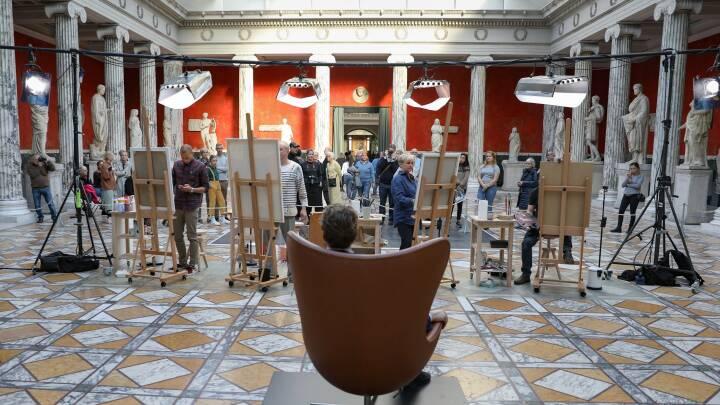 Har du lyst til at deltage i 'Danmarks Bedste Portrætmaler'?