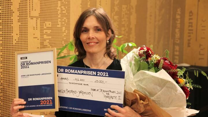 Efter udfordret år i læseklubber: Anne Lise Marstrand-Jørgensen får DR Romanprisen 2021