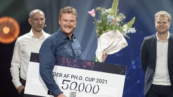Sejr til forsker i nedbrydeligt plastik ved Ph.d. Cup 2021
